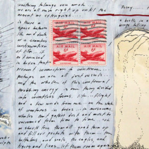 Notes On Decay, Fieldbook 5, New York, 2009. Mixed Media