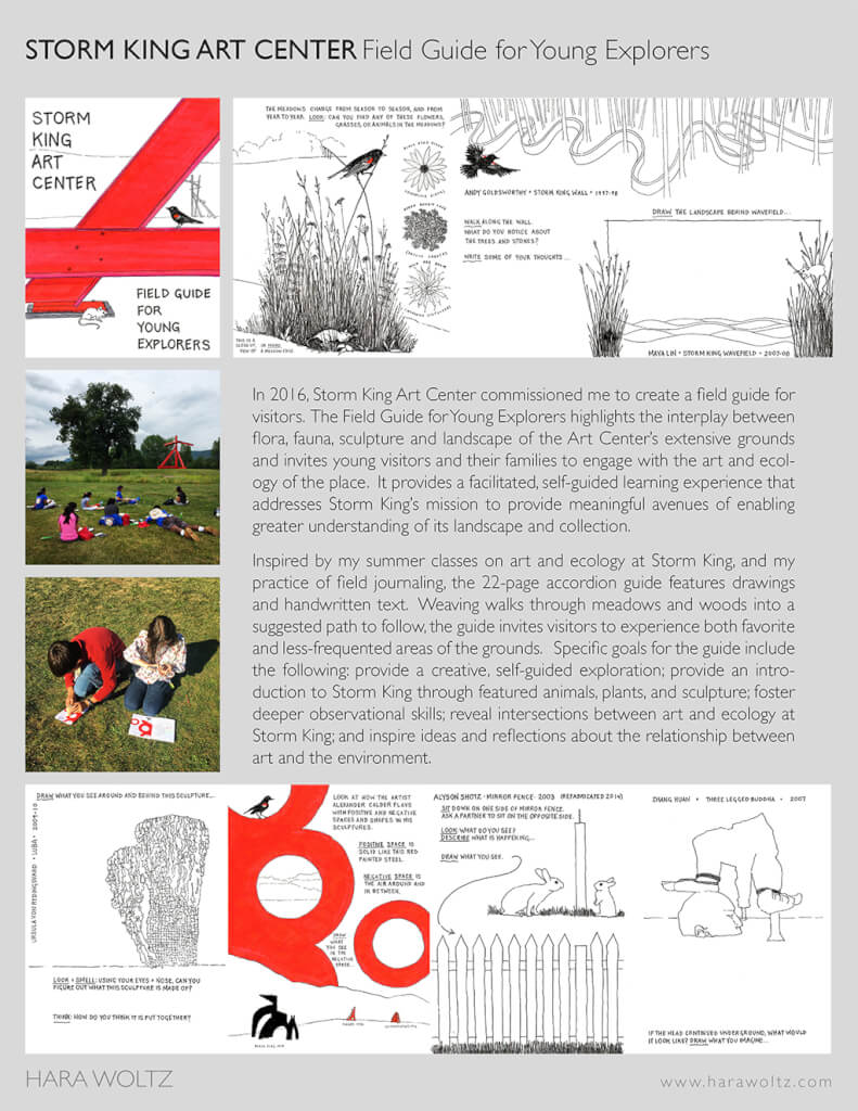STORM KING ART CENTER Field Guide (PDF)